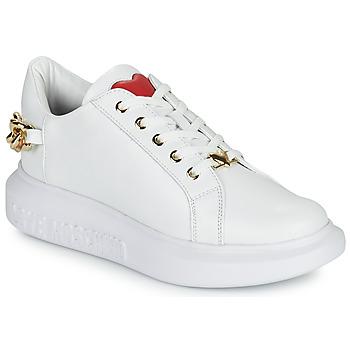 Schuhe Damen Sneaker Low Love Moschino JA15144G1D Weiss