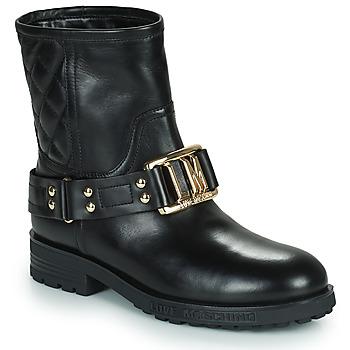 Schuhe Damen Low Boots Love Moschino JA21224G0D Schwarz