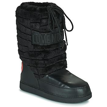 Schuhe Damen Schneestiefel Love Moschino JA24232G0D Schwarz