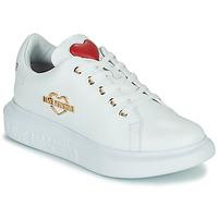 Schuhe Damen Sneaker Low Love Moschino JA15204G0D Weiss
