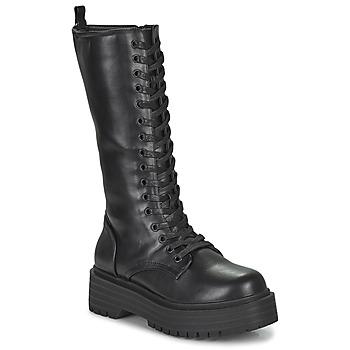 Schuhe Damen Klassische Stiefel Emmshu BADIE Schwarz