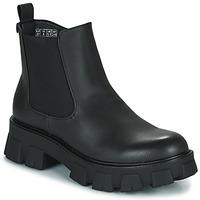 Schuhe Damen Boots Emmshu KALEB Schwarz
