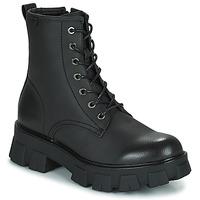 Schuhe Damen Boots Emmshu KING Schwarz