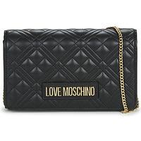 Taschen Damen Umhängetaschen Love Moschino JC4079 Schwarz