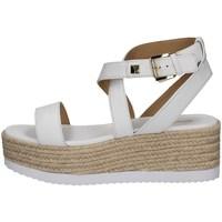 Schuhe Damen Sandalen / Sandaletten MICHAEL Michael Kors 40S1LOFS1L WEISS