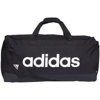 Taschen Sporttaschen adidas Originals Linear Duffel L Schwarz