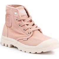 Schuhe Damen Sneaker High Palladium Manufacture US Pampa HI Rosa