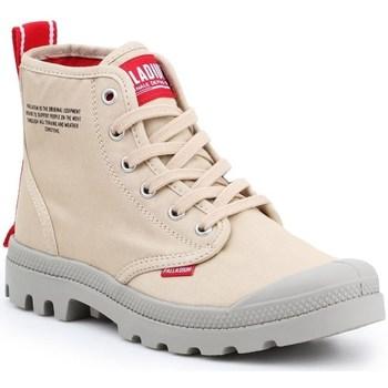 Schuhe Herren Sneaker High Palladium Manufacture Pampa HI Dare Beige