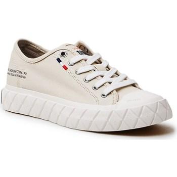Schuhe Damen Sneaker Low Palladium Manufacture Ace Cvs Beige