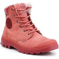 Schuhe Damen Schneestiefel Palladium Manufacture Pampa Sport Cuff Wps Rot