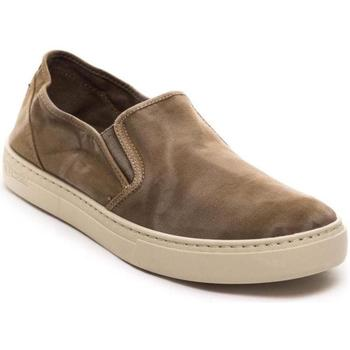 Schuhe Herren Slip on Natural World  Marrón
