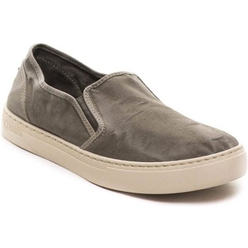 Schuhe Herren Slip on Natural World  Gris