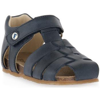 Schuhe Jungen Sandalen / Sandaletten Naturino FALCOTTO 0C01 ALBY BLEU Blu