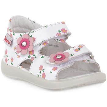 Schuhe Jungen Sandalen / Sandaletten Naturino FALCOTTO 0N01 BESENVAL WHITE Bianco