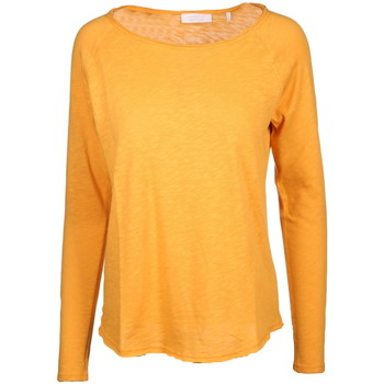 Kleidung Damen Pullover Rich & Royal Heavy Jersey Longsleeve orange