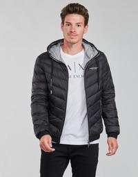Kleidung Herren Daunenjacken Armani Exchange 8NZB53 Schwarz