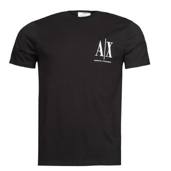Kleidung Herren T-Shirts Armani Exchange 8NZTPH Schwarz