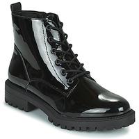 Schuhe Damen Boots Esprit SIMEONA Schwarz