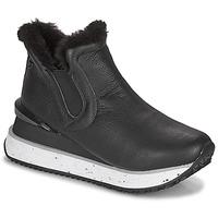 Schuhe Damen Sneaker High Gioseppo FEDJE Schwarz