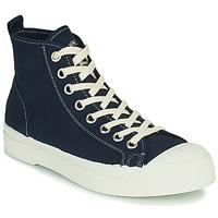 Schuhe Damen Sneaker High Bensimon STELLA B79 Blau