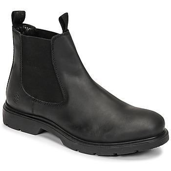 Schuhe Herren Boots Lumberjack CHARLIE BEATLES Schwarz