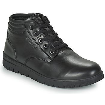Schuhe Herren Boots Lumberjack ALFRED LOW BOOT LACE Schwarz