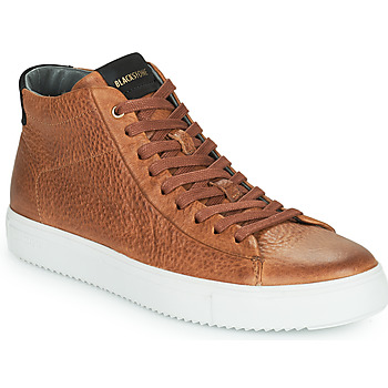 Schuhe Herren Sneaker High Blackstone VG06-CUOIO Braun