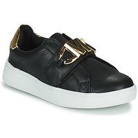 Schuhe Mädchen Sneaker Low MICHAEL Michael Kors JEM MK Schwarz / Gold