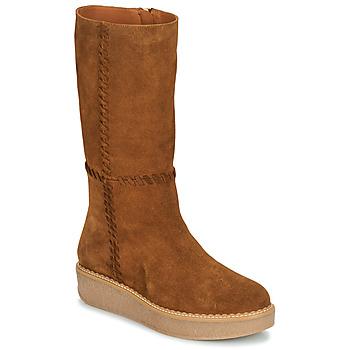 Schuhe Damen Klassische Stiefel Castaner NUCHA Cognac
