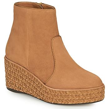 Schuhe Damen Boots Castaner NICOLA Cognac
