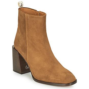 Schuhe Damen Low Boots Castaner IRIA Cognac