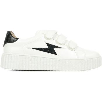 Schuhe Damen Sneaker Low Vanessa Wu Eclair Weiss