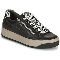 Schuhe Damen Sneaker Low IgI&CO DONNA AVA Schwarz