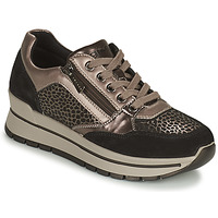 Schuhe Damen Sneaker Low IgI&CO DONNA ANISIA Silbern / Schwarz