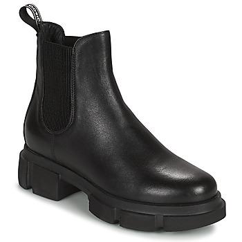 Schuhe Damen Boots IgI&CO DONNA VELAR Schwarz