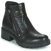 Schuhe Damen Klassische Stiefel IgI&CO DONNA GIANNA Schwarz