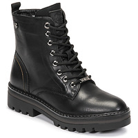 Schuhe Damen Boots Refresh 72544 Schwarz