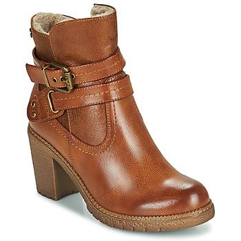 Schuhe Damen Low Boots Refresh 78969 Camel