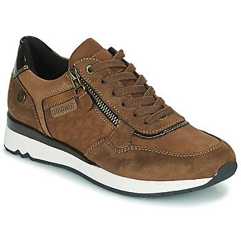 Schuhe Damen Sneaker Low Refresh 77718 Braun