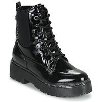 Schuhe Damen Boots Refresh 76084 Schwarz