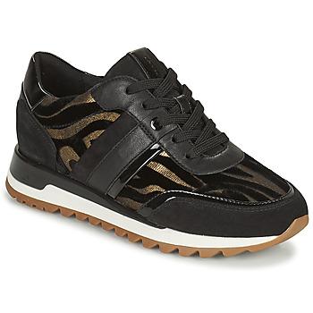 Schuhe Damen Sneaker Low Geox TABELYA Schwarz