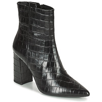 Schuhe Damen Low Boots Geox BIGLIANA Schwarz