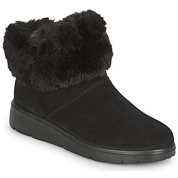 Schuhe Damen Boots Geox ARLARA Schwarz