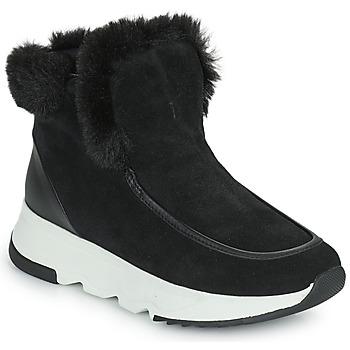 Schuhe Damen Boots Geox FALENA Schwarz