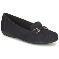 Schuhe Damen Slipper Geox ANNYTAH Marine