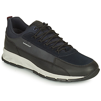 Schuhe Herren Sneaker Low Geox DELRAY WPF Marine / Schwarz