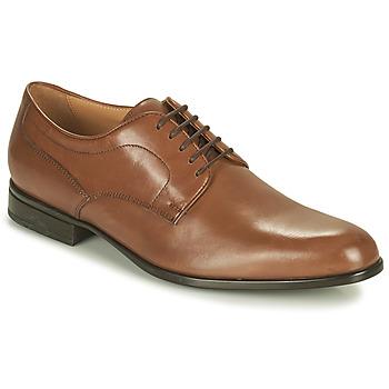 Schuhe Herren Derby-Schuhe Geox IACOPO Braun