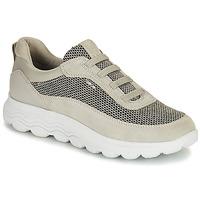 Schuhe Damen Sneaker Low Geox SPHERICA Weiss