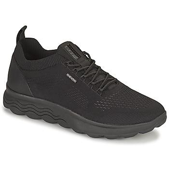 Schuhe Herren Sneaker Low Geox SPHERICA Schwarz