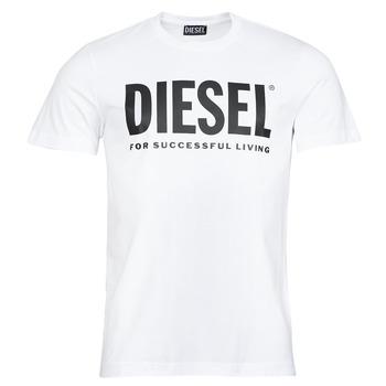 Kleidung Herren T-Shirts Diesel T-DIEGOS-ECOLOGO Weiss